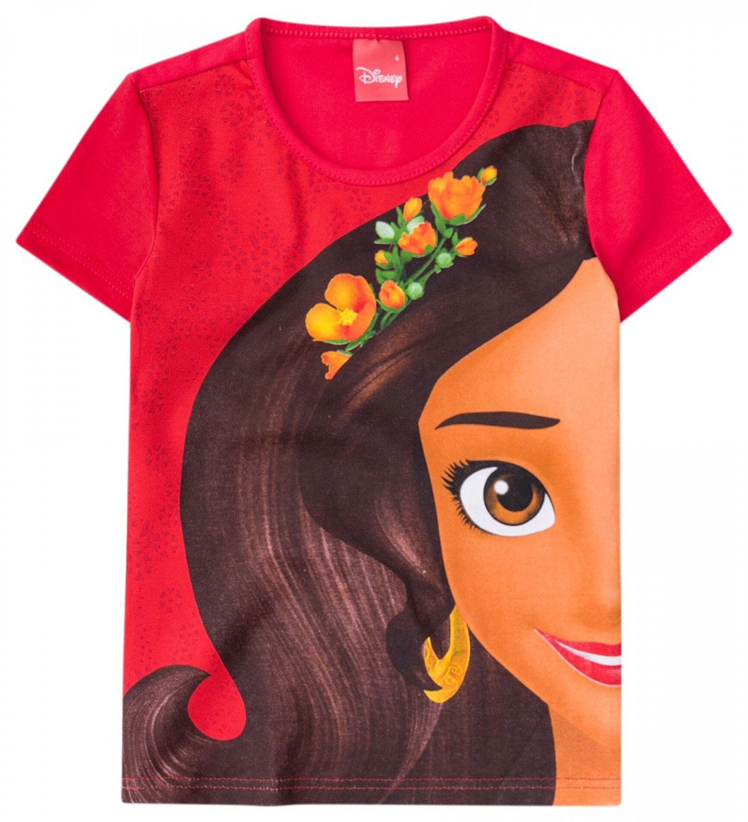 Blusa da princesa Elena - Malwee Vermelho  c57ea89731b