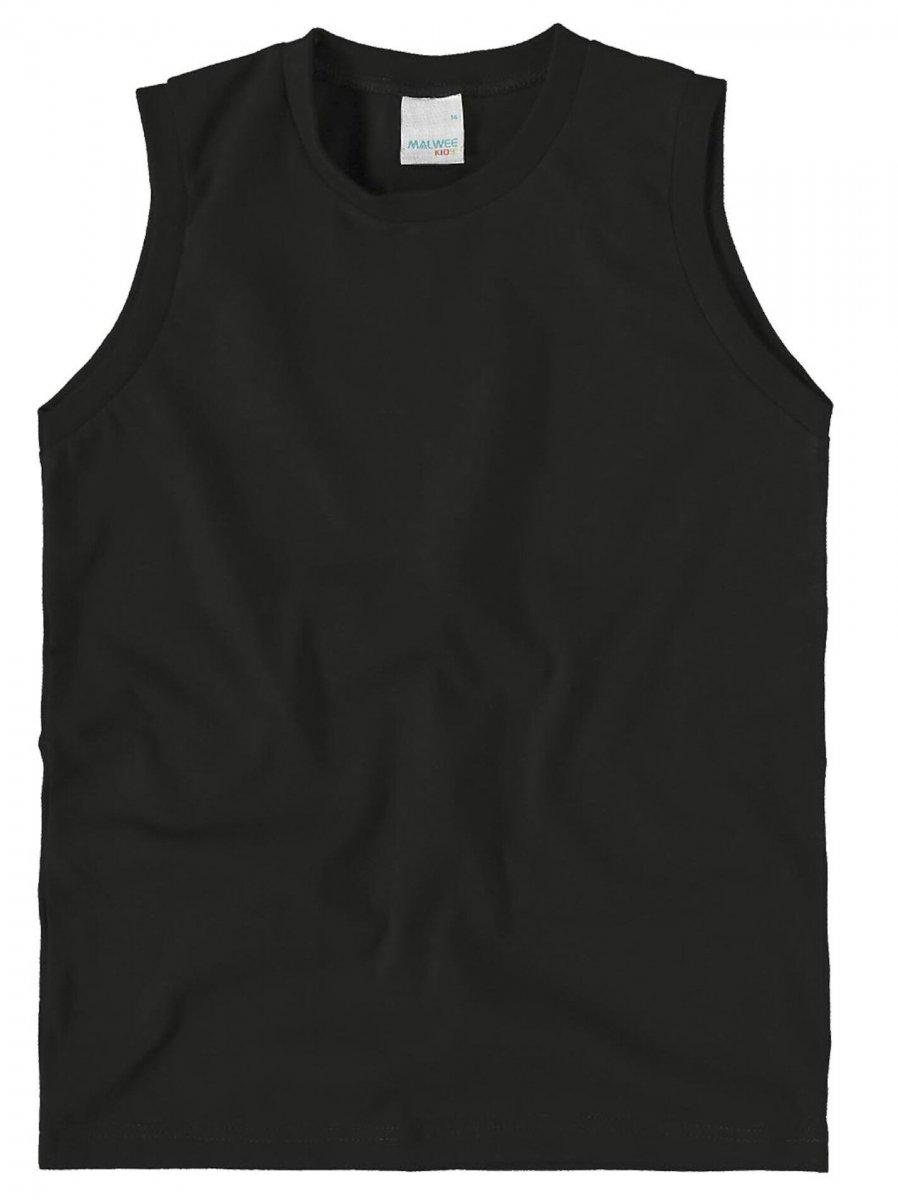 Camisa regata básica - Malwee Preto  a0e19875003