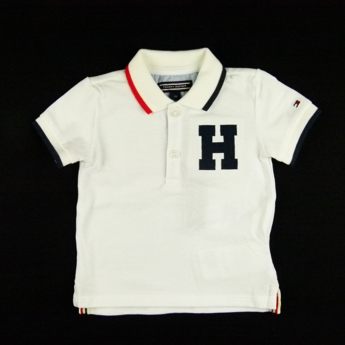 fa964af4b Camiseta Badge Baby Boy Polo Tommy Hilfiger - 033914 Branco