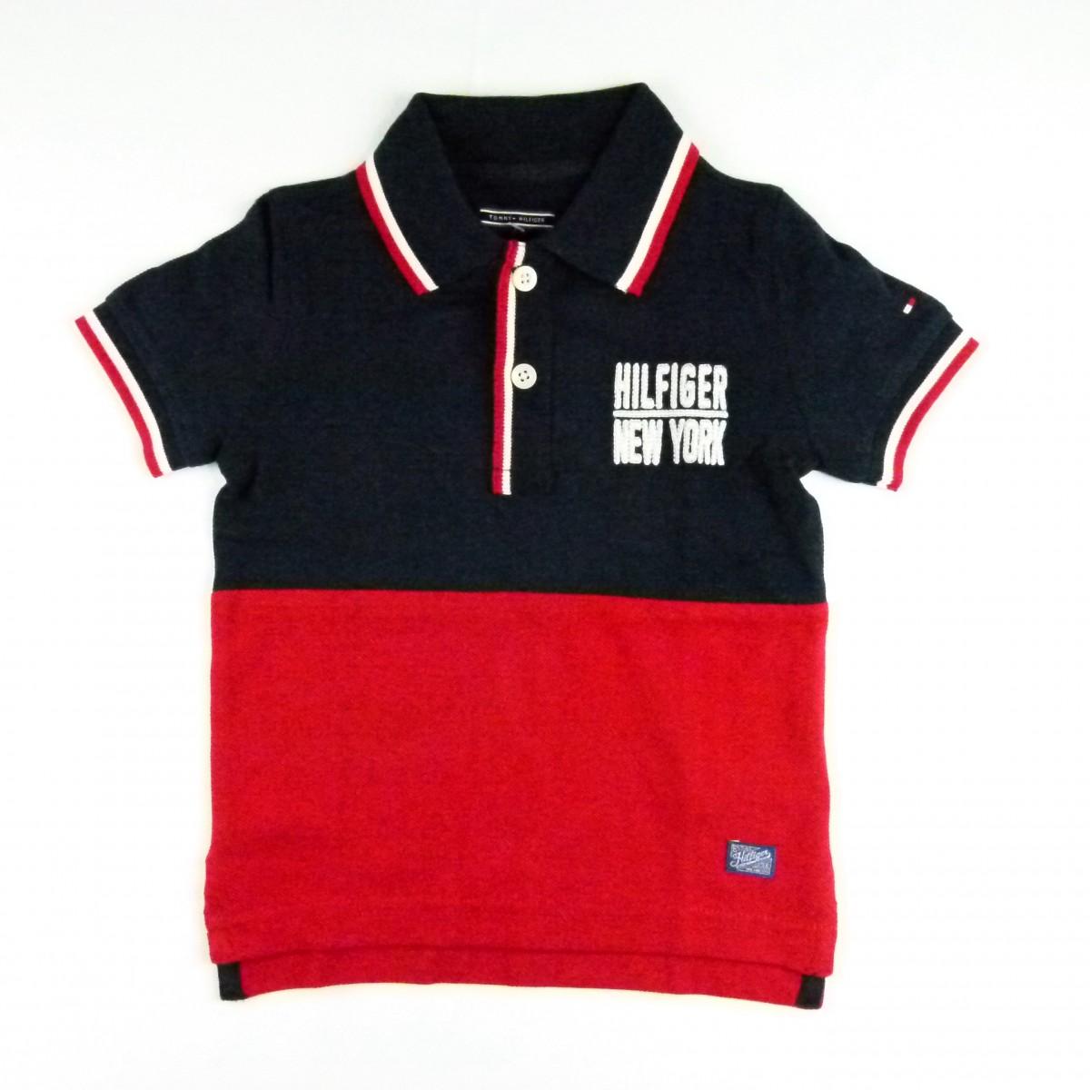 102df5254 Camiseta Liam Polo Tommy Hilfiger - 033902 Azul Marinho