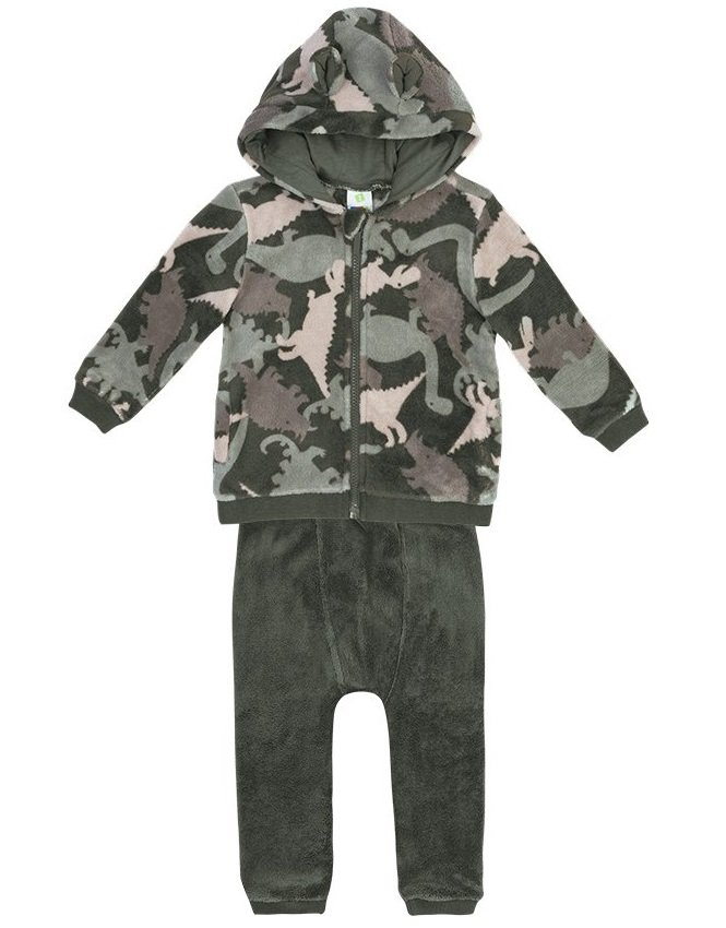 67f10a24c7 Conjunto jaqueta e calça - Puc Verde Militar