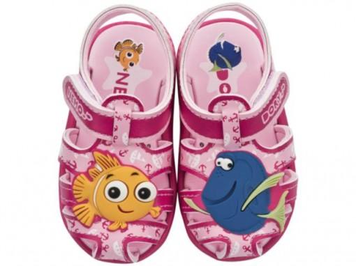 Sandália Babuch Grendene Kids Disney Infantil Classic Baby Rosa 21472