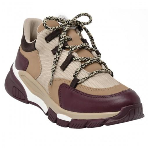Tênis Chunky Sneaker Feminino Via Marte 20-6963
