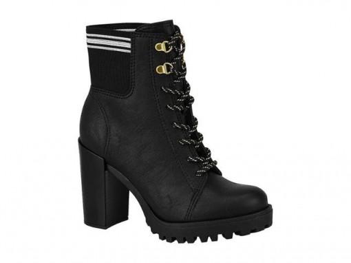 54b5f9a6f Bota Feminina Ankle Boot Moleca 5325.108
