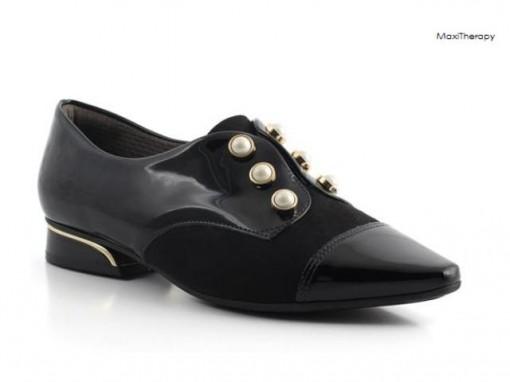 c713eeb55e Sapato Oxford Maxi Teraphy Feminino Piccadilly Preto 278003