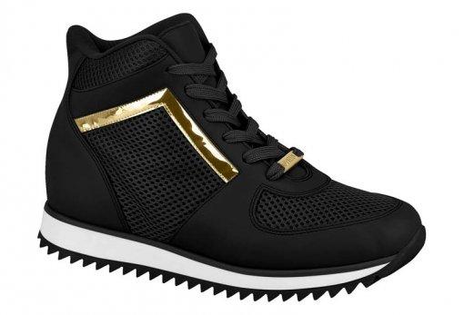 4843bb7dfbf Tênis Bota Feminino Sneaker Casual Vizzano 1234.136