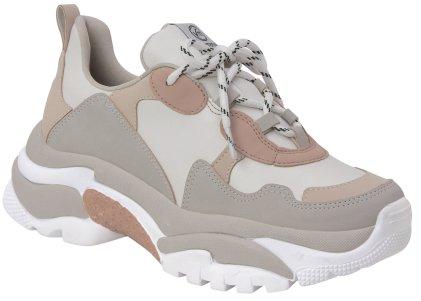 572001e92a8 Tênis Feminino Chunky Sneaker Lançamento Via Marte 19-7432