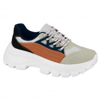 Imagem - Tenis Chunky Sneaker Feminino Vizzano 1356.101 cód: 200000711356.10120004493