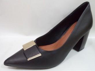 Imagem - Sapato Feminino em Couro Usaflex Z2407 cód: 20000268Z24071