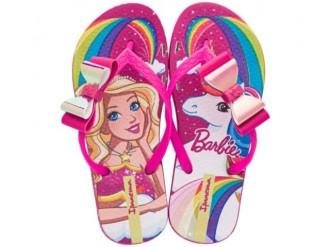 Imagem - Chinelo Infantil Menina Barbie 26213 - 200000542621320003518