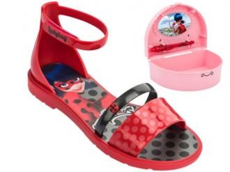Imagem - Sandália Infantil Menina Ladybug Porta Segredos 21695 cód: 200004052169520000409