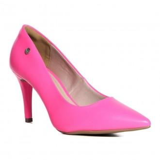 Imagem - Sapato Scarpin Feminino Colorido Neon Via Marte 21-13301 cód: 2000000821-1330120002122