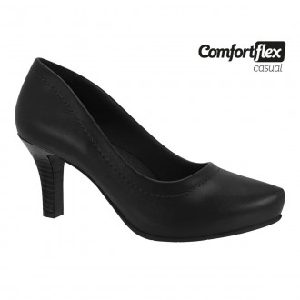 Imagem - Sapato Scarpin Feminino Comfortflex 2085301 cód: 2000004720853011