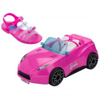 Imagem - Sandália Infantil Menina Barbie 22166 cód: 200000542216620000290