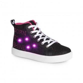 Imagem - Tênis Infantil Menina com LED Shine Pampili 165132 - 200000581651321