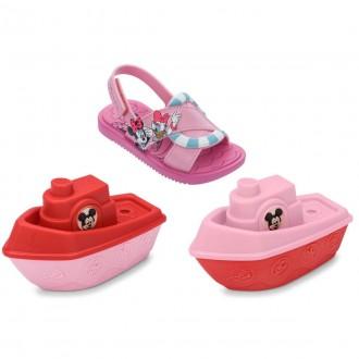 Imagem - Sandália Papete Infantil Baby Disney 22171 cód: 200002172217120001110