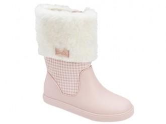 Imagem - Bota Infantil Cano Alto Barbie Trend Grendene Kids 21748 - 200000542174820003242