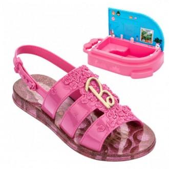 Imagem - Sandália Infantil SPA Barbie 22485 cód: 200000542248520001110