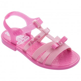Imagem - Sandália Infantil Menina Barbie 22166 cód: 200000542216620001110