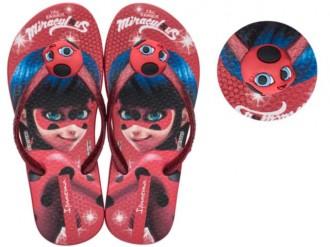 Imagem - Chinelo Infantil Ladybug Joaninha Grendene 26123 - 20000405261236