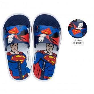 Imagem - Chinelo Infantil Liga da Justiça Super Homem 26289 - 200004122628920000102