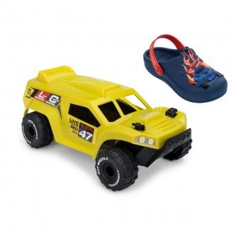 Imagem - Babuch Infantil Menino Hot Wheels + Brinde Carro 22176 - 200000762217620000291