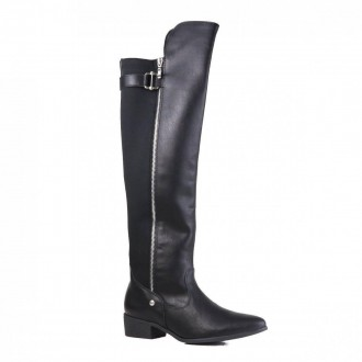 Imagem - Bota Feminina Over The Knee Casual Via Marte  19-205 - 2000000819-2051
