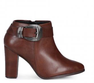 Imagem - Bota Ankle Boots Feminina Fivela Beira Rio 9043.126 - 200000259043.12620000895