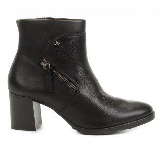 Imagem - Bota Ankle Boot Cravo e Canela 161101 - 200000051611011