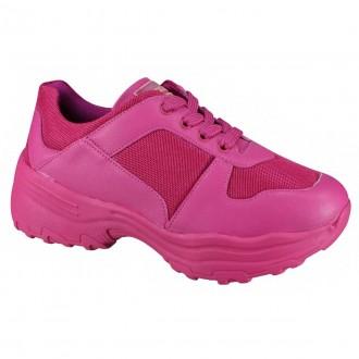 Imagem - Tenis Feminino Chunky Sneaker Quiz 66-1771 cód: 2000010866-177120000759