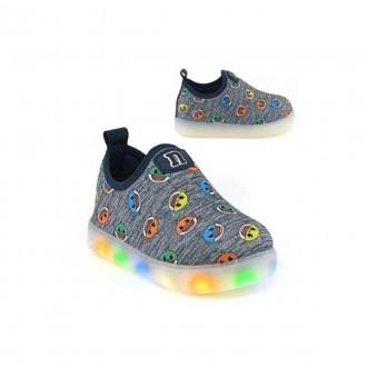 Imagem - Tênis LED Baby Shark Infantil Novope 318n943 - 20000091318N94320003965