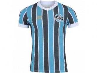Imagem - Camiseta Grêmio Retrô Masculina  - 200000963G00019 Masc20002081