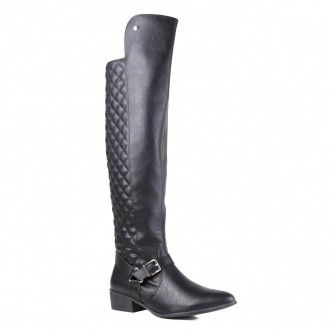 Imagem - Bota Feminina Over The Knee  Casual Via Marte 19-203 cód: 2000000819-2031