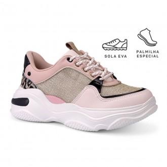 Imagem - Tênis Chunky Sneaker Feminino Tanara T4181 cód: 20000011T418120004024