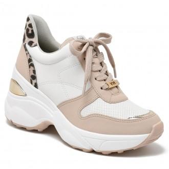 Imagem - Tênis Chunky Sneaker Anabella Animal Print Via Marte 20-12543 - 2000000820-1254320004114