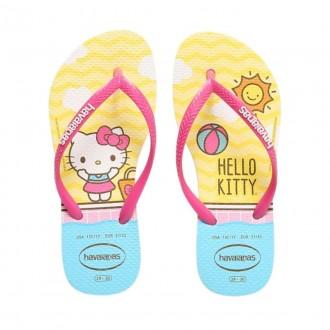 Imagem - Chinelo Infantil Menina Havaianas Kids Slim Hello Kitty cód: 20000179kidsslimhellokitty2