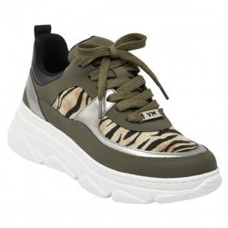 Imagem - Tenis Feminino Casual Chunky Sneaker Via Marte 20-605 cód: 2000000820-60520004005