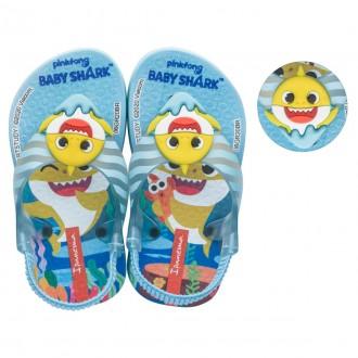 Imagem - Chinelo Elástico Infantil Baby Shark 26564 cód: 200004992656420001834