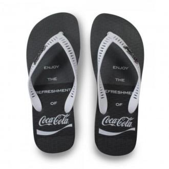 Imagem - Chinelo de Dedo Masculino Coca-cola Cc3087 cód: 20000229CC308720000055