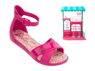 Imagem - Sandália Confeitaria Barbie Grendene 21921 - 200000542192120001110