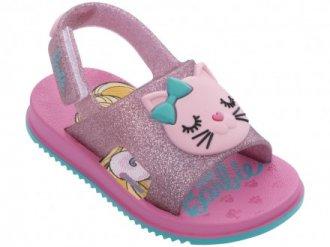 Imagem - Sandália Infantil Menina Fashion Cat Barbie 22150 - 200000542215020003915