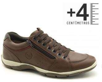 Imagem - Sapatenis em COURO e com Salto Interno Ferricelli Azera 42511 - 20003487