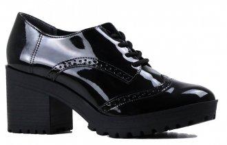 Imagem - Sapato Oxford Feminino Casual Tratorado Via Marte 19-6507 - 2000000819-650720001322