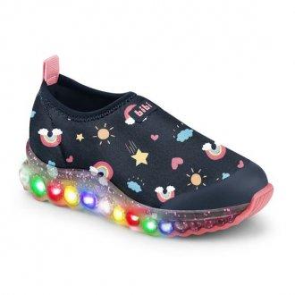 Imagem - Tênis Infantil LED Roller Celebration de Luz Bibi  1079143 cód: 20000080107914320004640