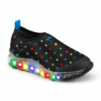 Imagem - Tênis Infantil LED Roller Celebration de Luz Bibi 1079144 cód: 20000080107914420004560