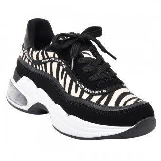 Imagem - Tênis Chunky Sneaker Feminino Via Marte 20-7702 - 2000000820-770220003981