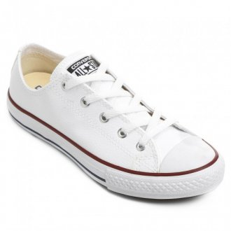 Imagem - Tênis Converse All Star Branco Chuck Taylor Couro  - 20000305CT045000012