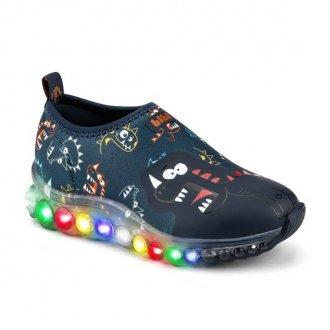 Imagem - Tênis Infantil LED Roller Celebration de Luz Bibi  1079122 cód: 20000080107912220004555