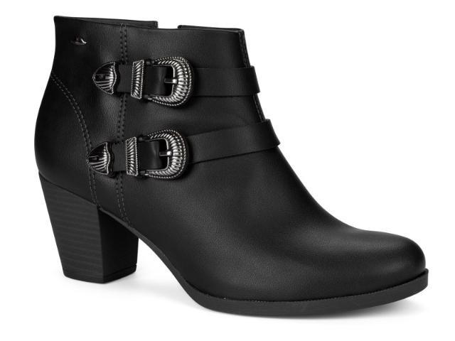 7c12de501 Bota Ankle Boot Cano Curto Feminina Dakota G1302