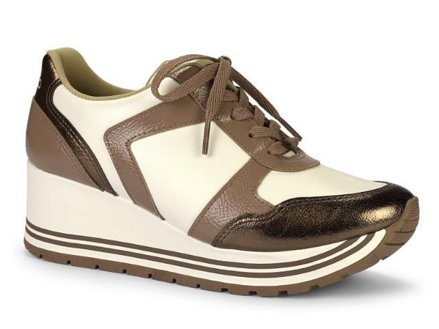 f245d2a37 Tênis Sneaker Feminino Flatform Anabela Dakota G1152